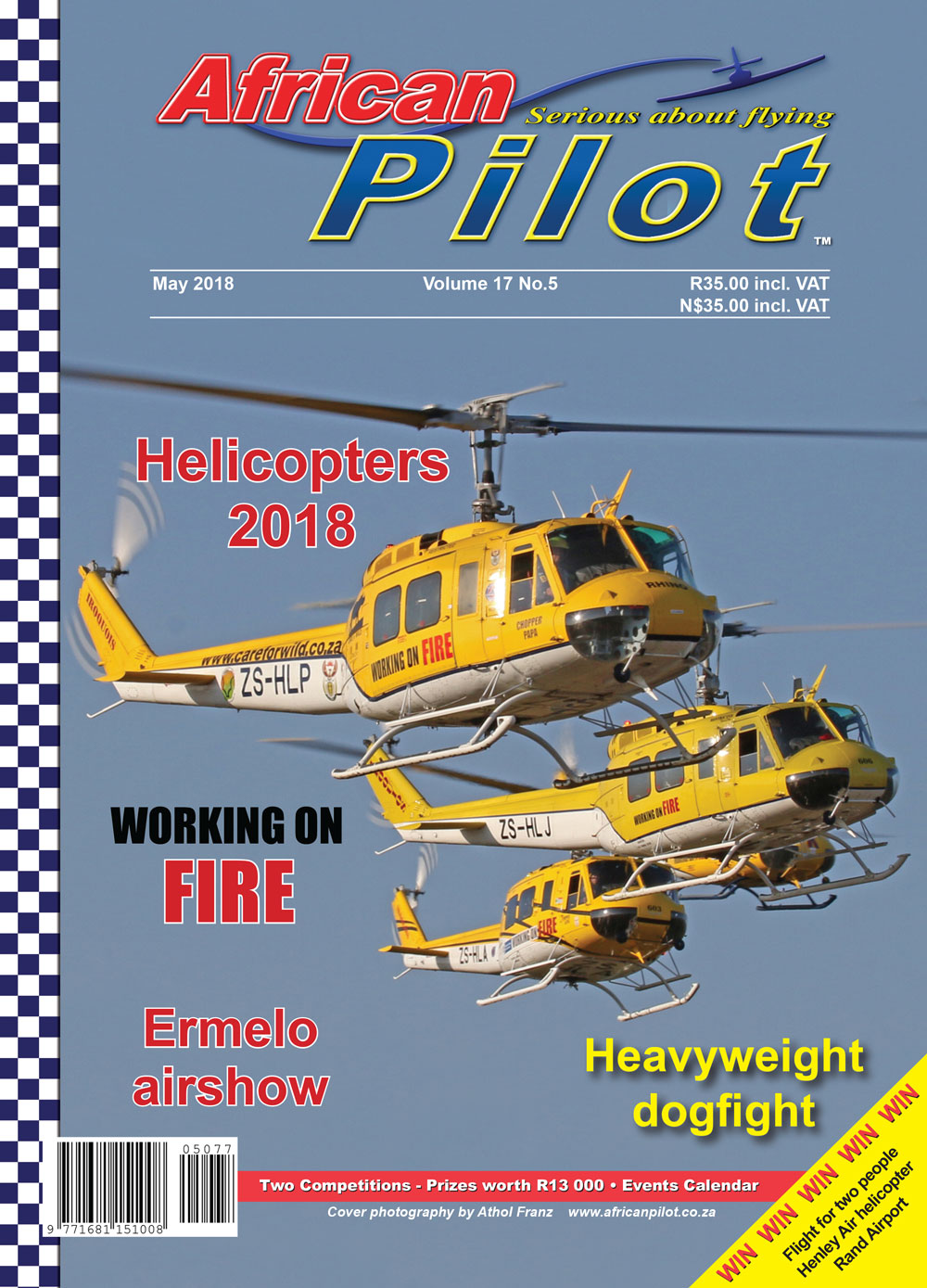 African Pilot Magazine - May 2018