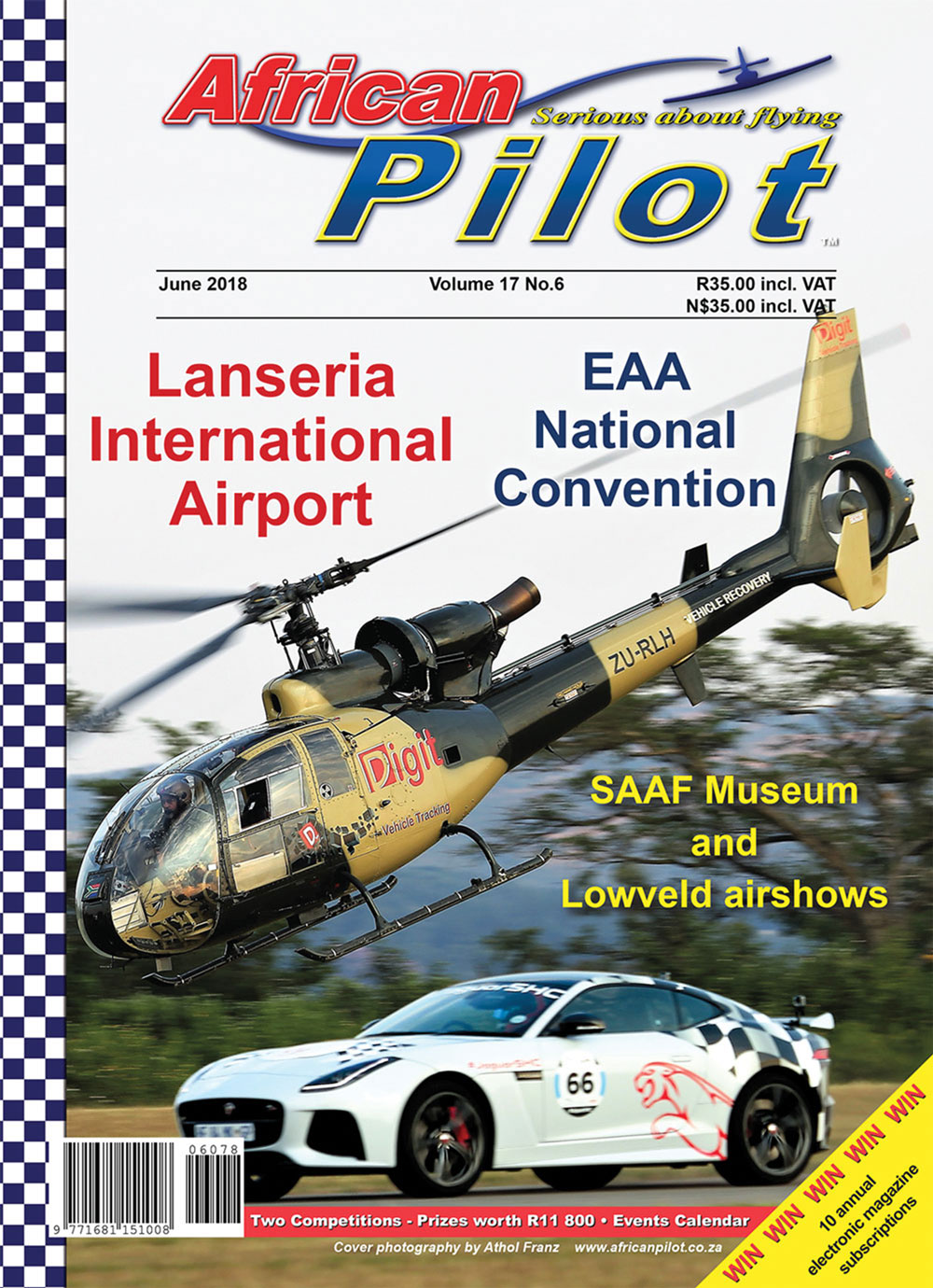 African Pilot magazine - June 2018 cover
