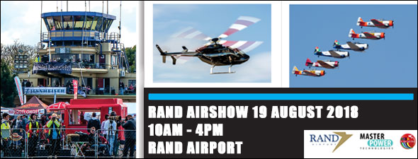 Rand Airshow - 19 August 2018