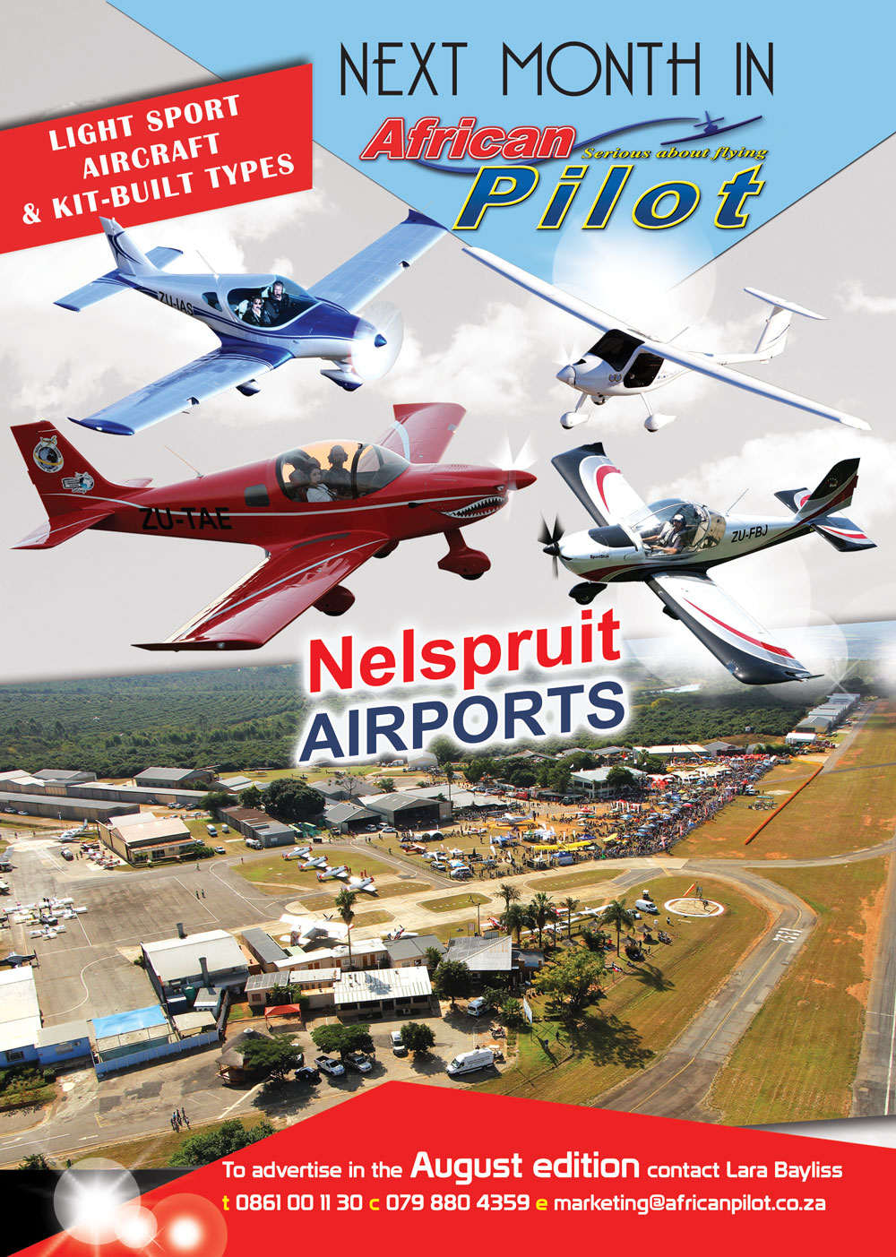 African Pilot's August 2018 edition