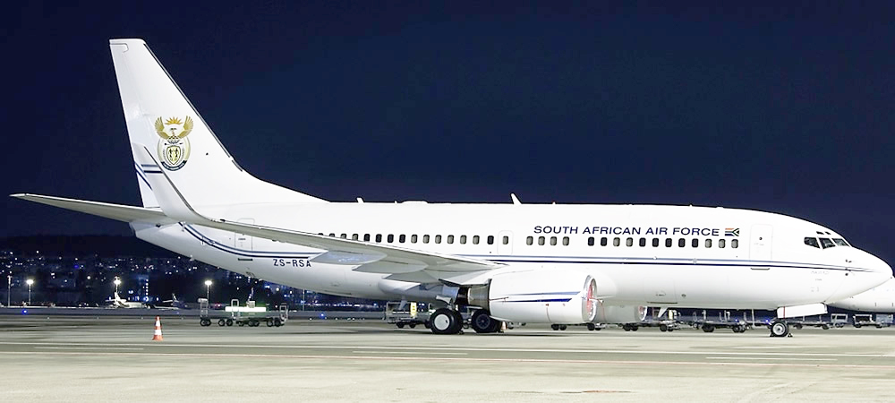 Boeing 737 7ED (BBJ) South African Air Force