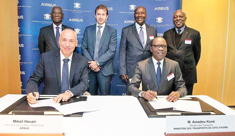 Airbus signs MoU Cote Ivoire