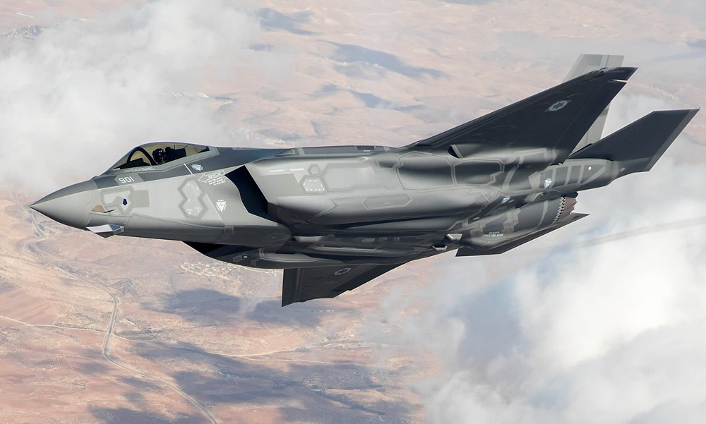 Israeli Air Force F35