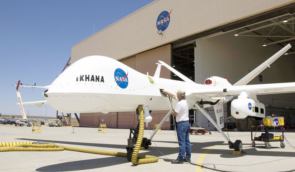 NASA flies RPA without chase plane