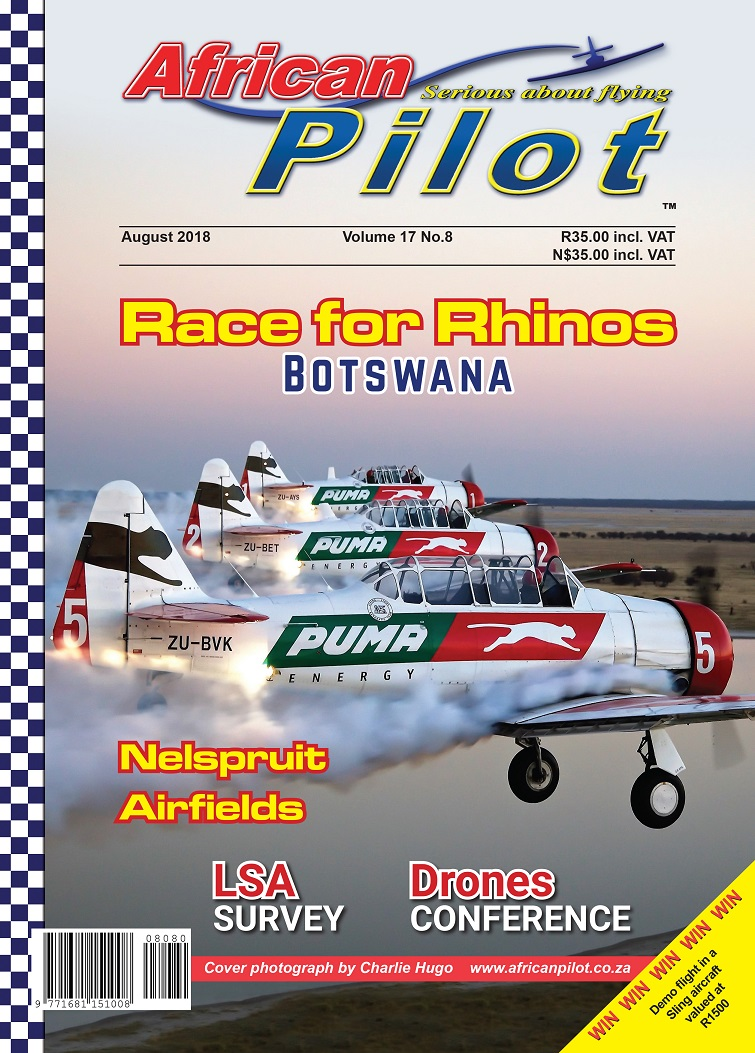 August 2018 edition of African Pilot magazine