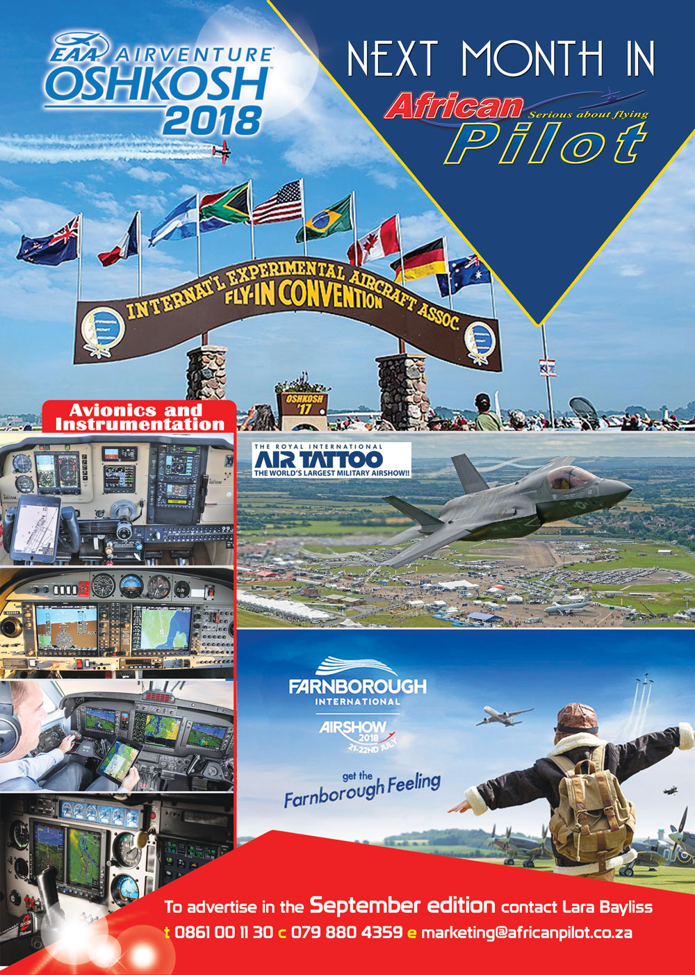 September 2018 edition of African Pilot magazine