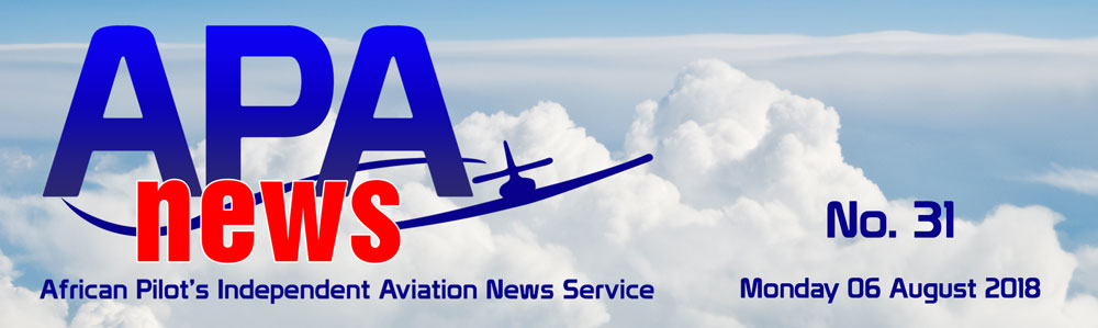 African Pilot Aviation News - No. 31, 06 August 2018