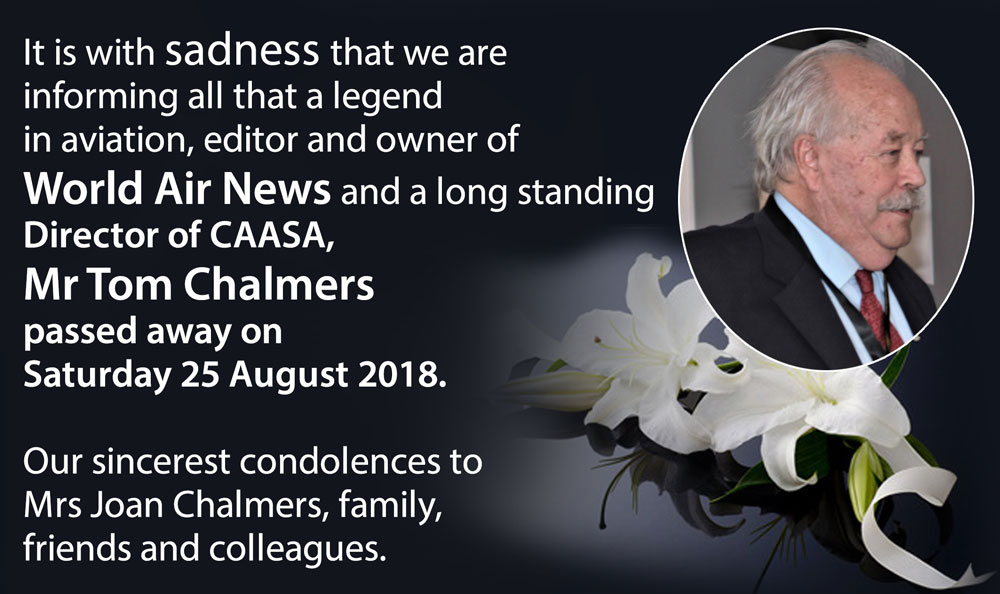 Condolences - Mr Tom Chalmers