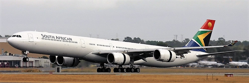 South African Airways Airbus A340-600