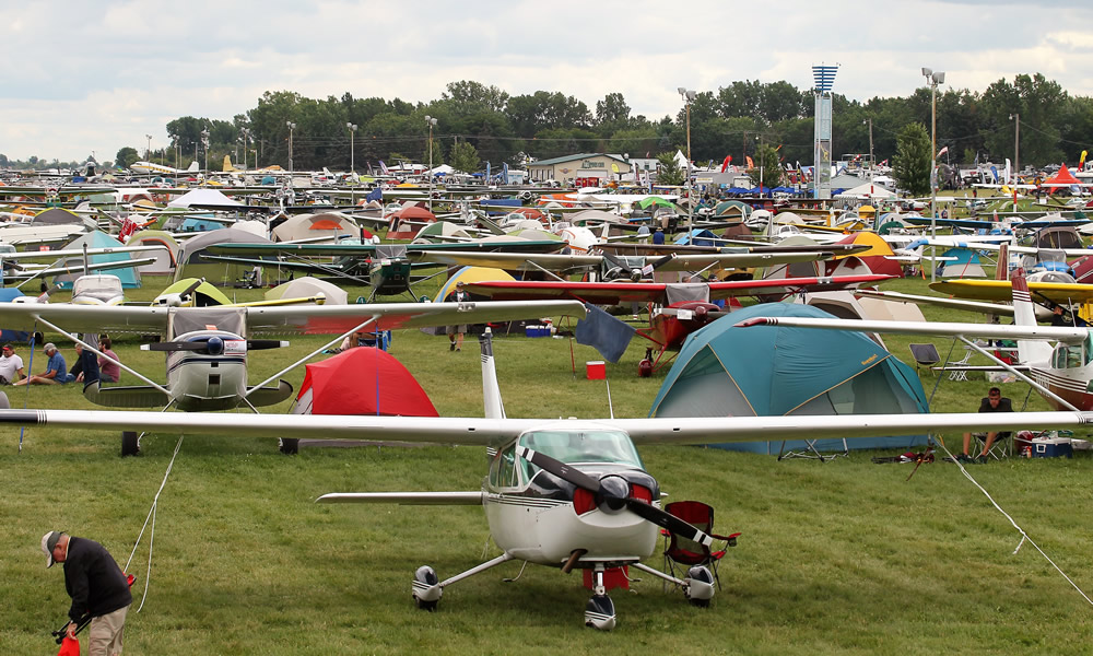 AirVenture 2018 looking South