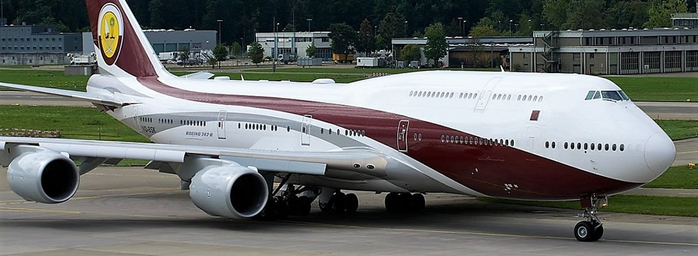 Qatar Amiri Flight Boeing 747-8