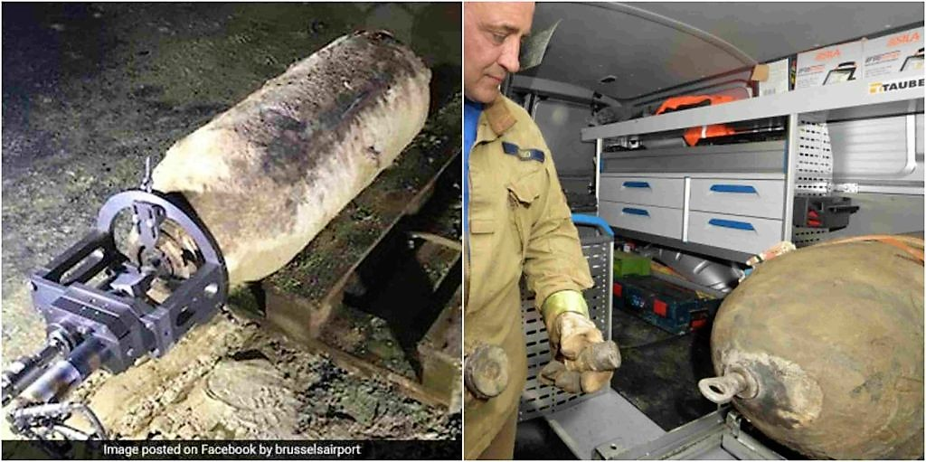 World War II bomb defused at Brussels Airport