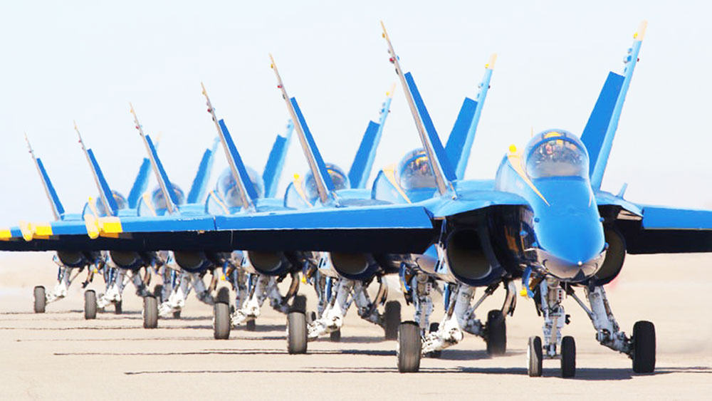 Blue Angles to get Super Hornets