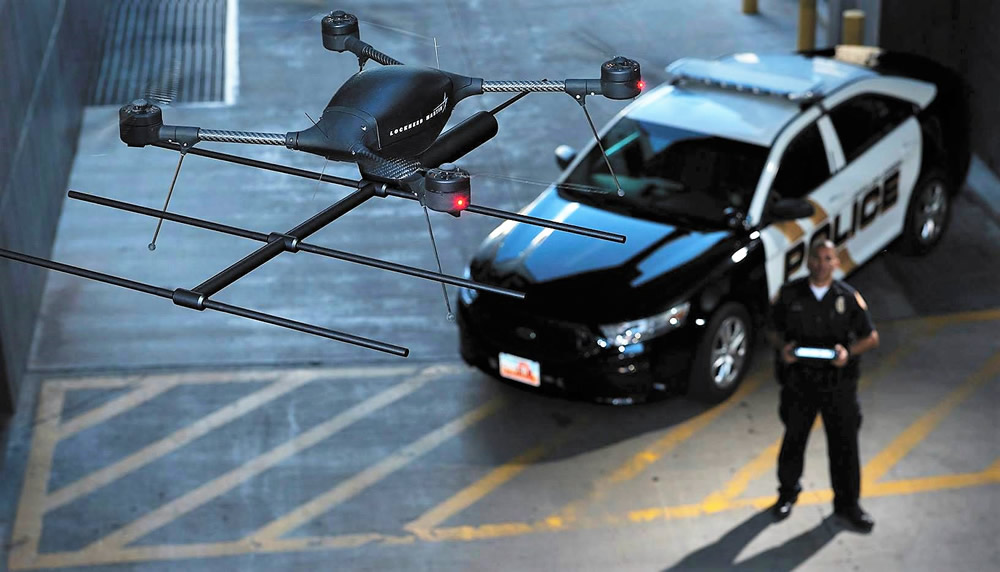 Colorado Springs Police Department drone