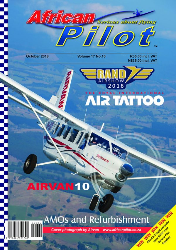 October 2018 edition of African Pilot magazine