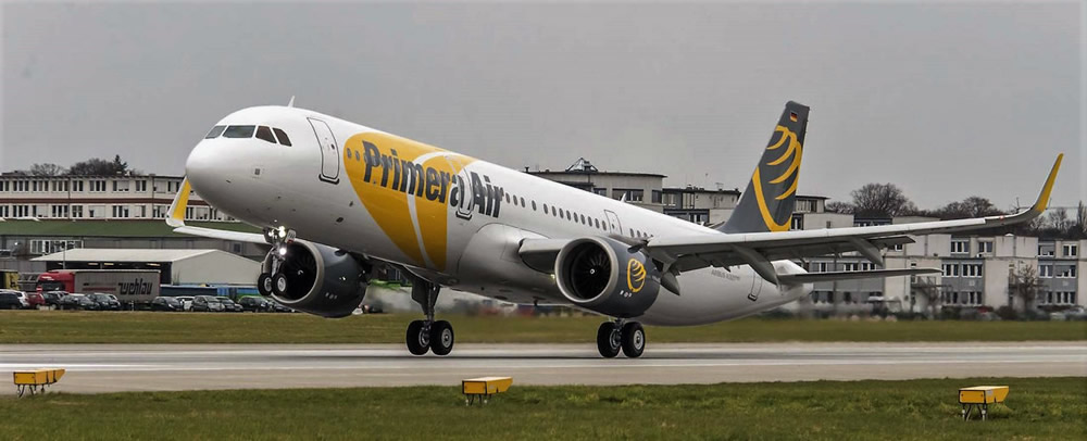Nordic budget carrier Primera Air A321neo