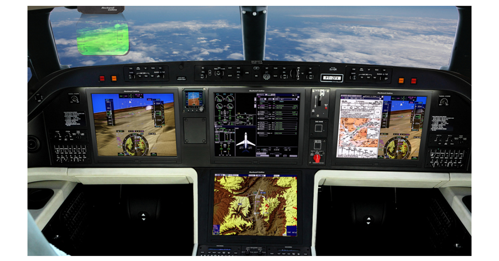 Embraer Legacy 500 Flight Deck