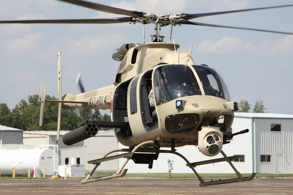 Bell helicopters 407GT
