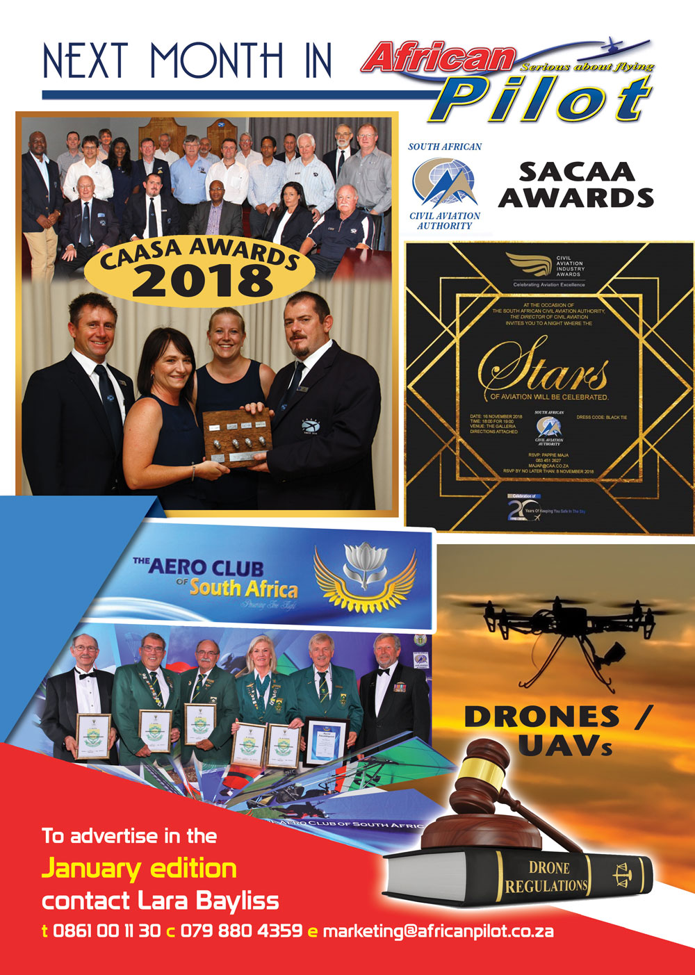 Next month in African Pilot January 2019