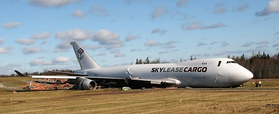 Sky Lease Cargo Boeing 747-400 scrapped