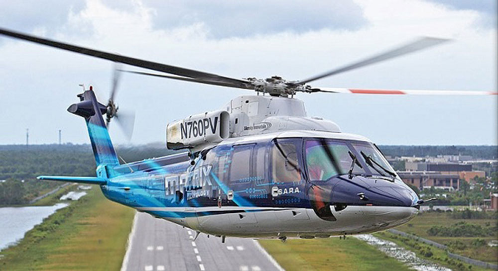 US Army pilots fly autonomous Sikorsky helicopter