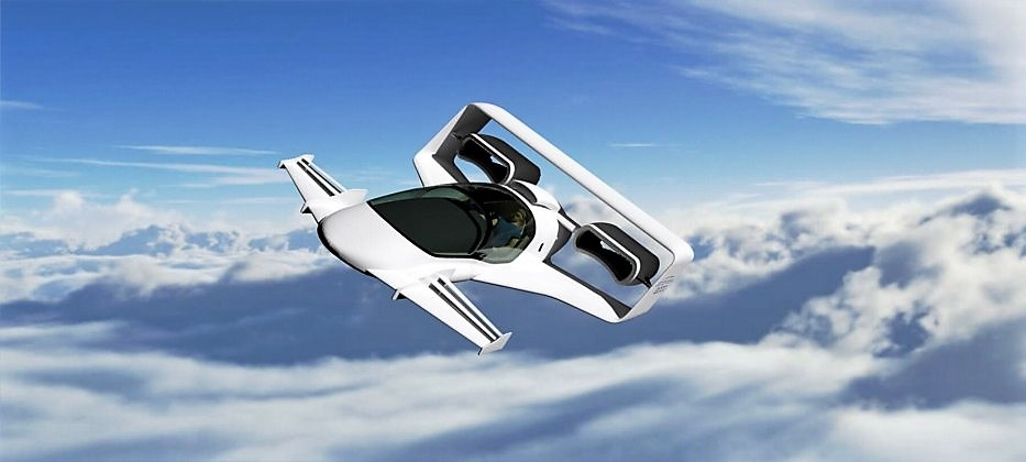 Jetoptera flying car