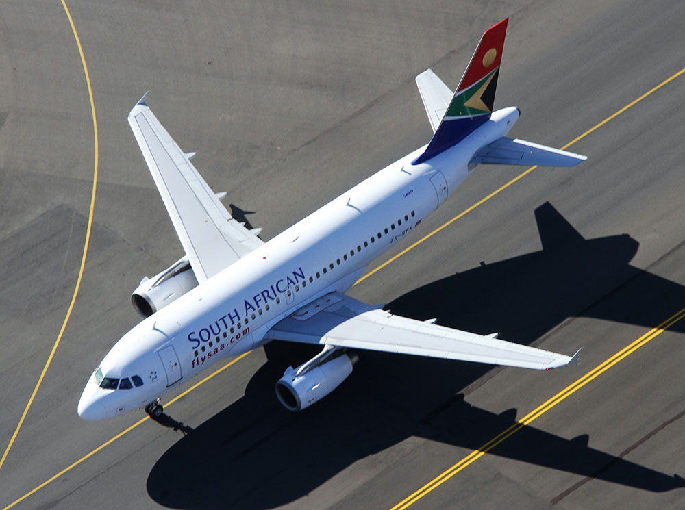 SAA Airbus A319