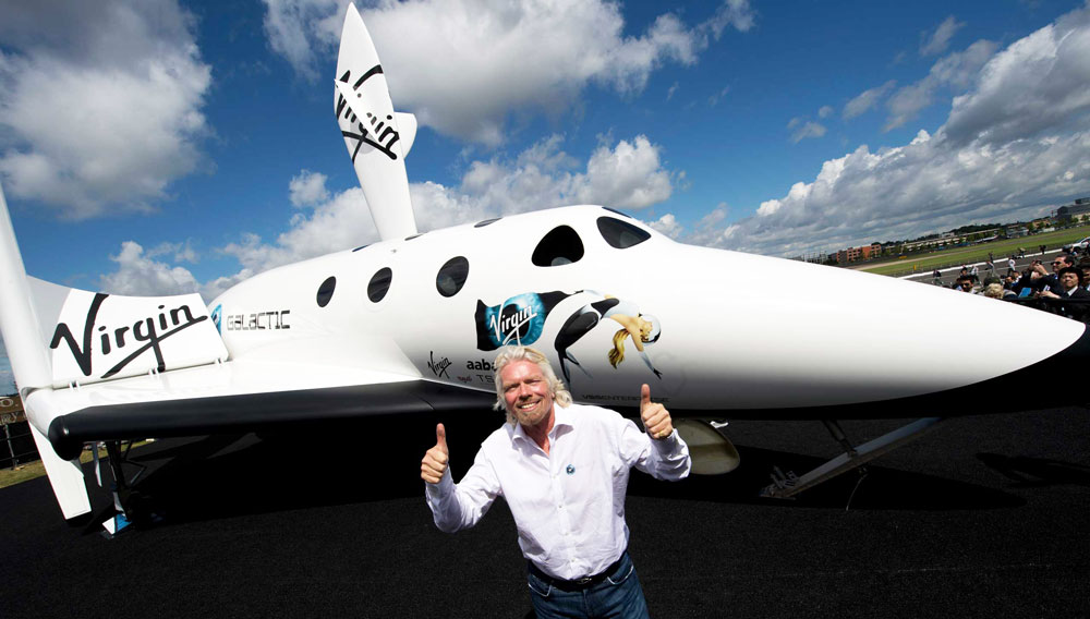 Virgin Galactic-Richard Branson