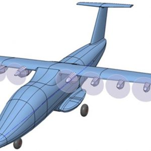 Russian electric aircraft