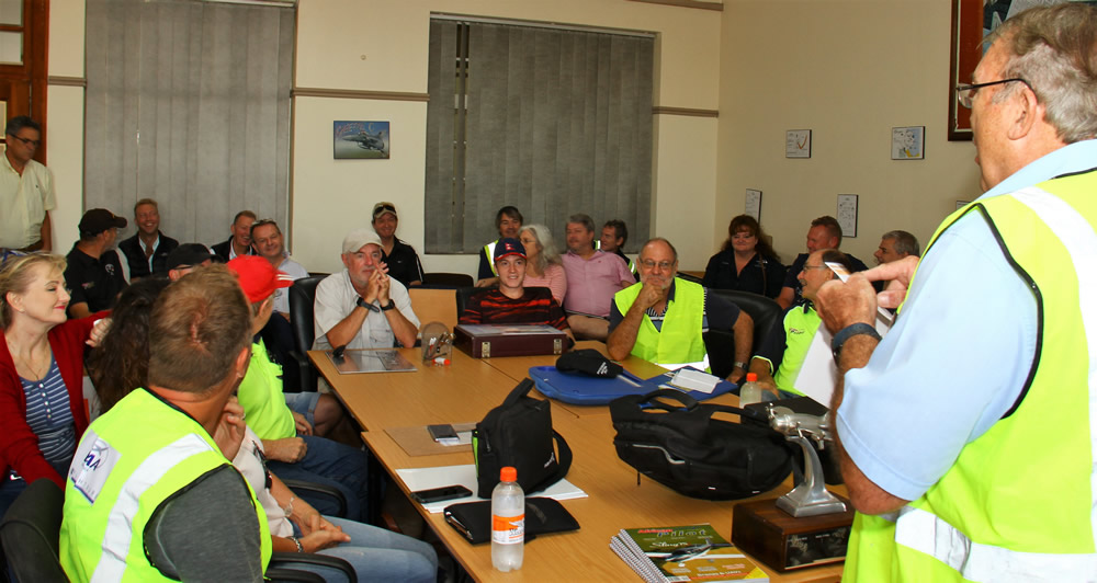 SAPFA Rand Airport challenge rally briefing