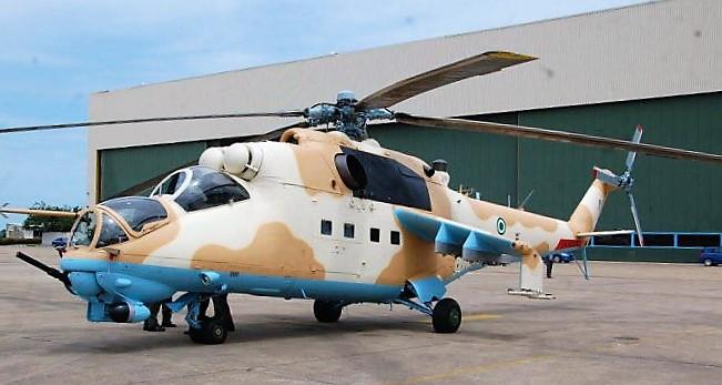 Nigerian Mi-35