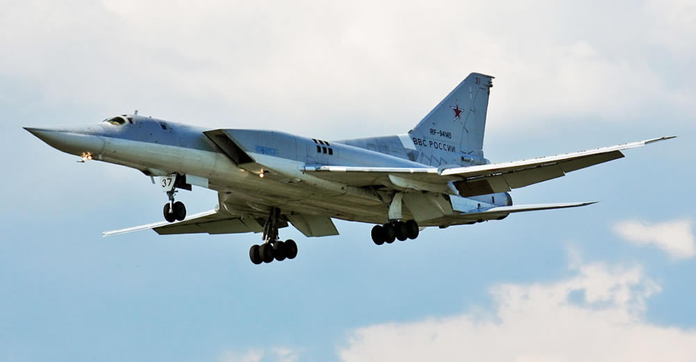 Tupolev Tu 22M3 supersonic bomber
