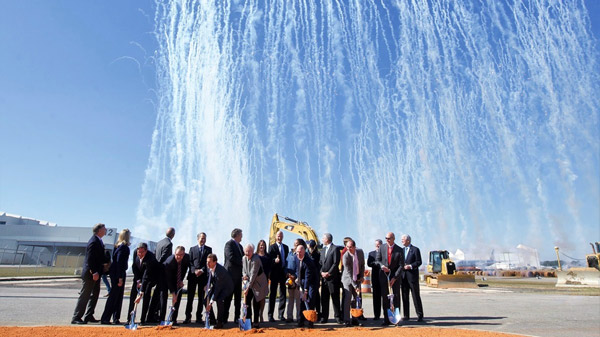Airbus breaks ground in Mobile USA