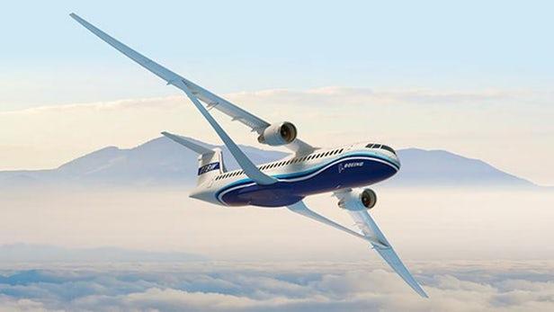 Boeing transonic wing