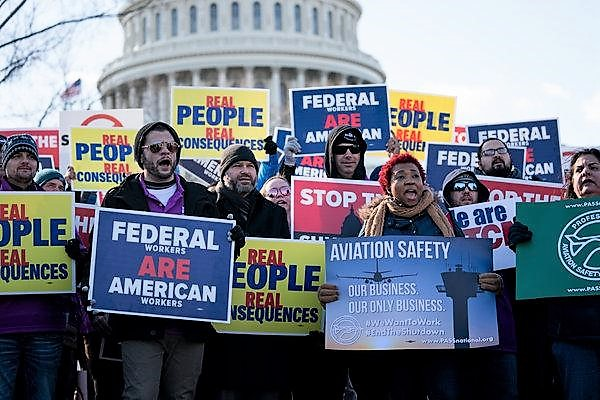 FAA furoughed safety personnel
