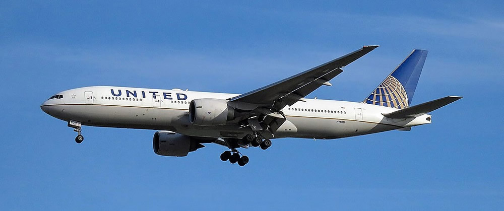 United Boeing 777 stranded in Goose Bay