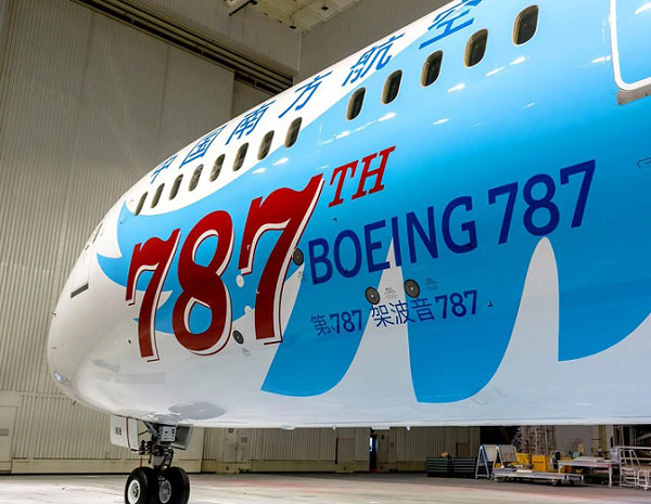 787th Dreamliner