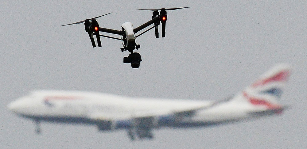 Some Gatwick drone sightings were police drones and helicopters
