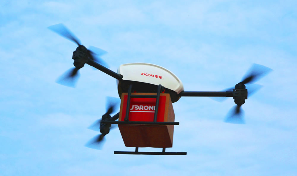 JD.com drone delivery