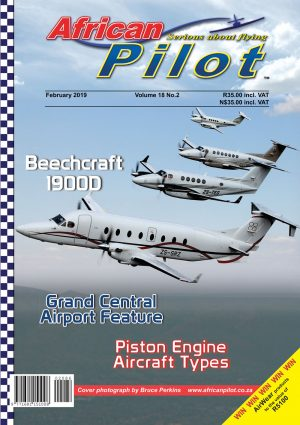 February 2019 edition of African Pilot magazine