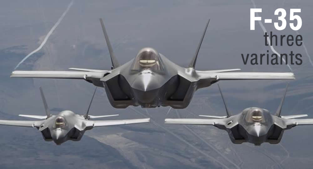 F-35 three variants