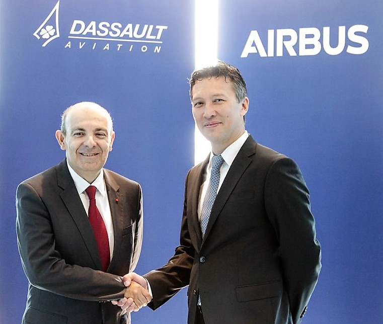 Airbus and Dassault Systemes MOA