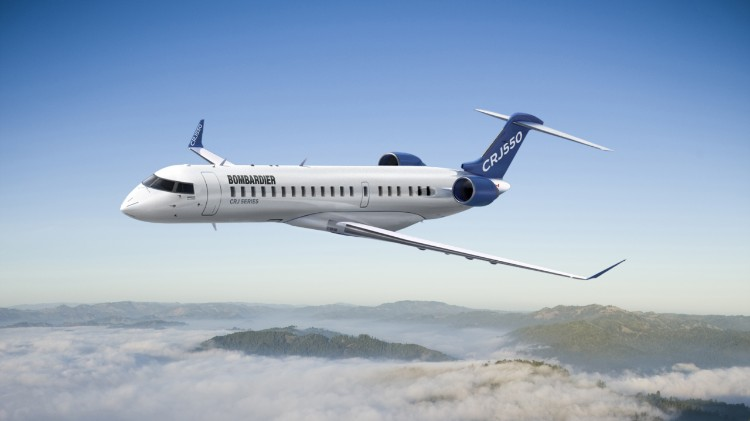 Bombardier launches 550