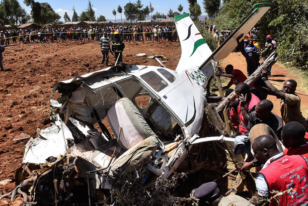 Cessna 206 crash Kenya