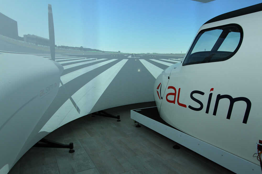 Alsim installation at Central Flying Academy