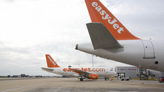 EasyJet at Gatwick