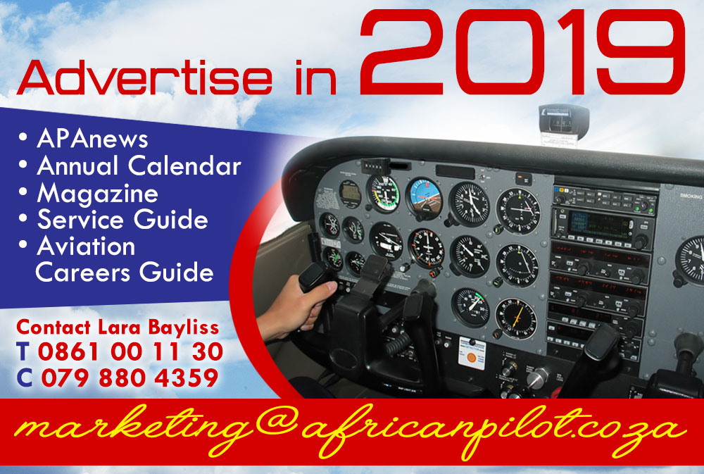 Advertise in African Pilot