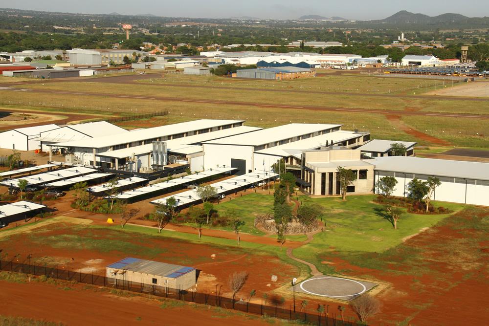 AHRLAC manufacturing facility at Wonderboom