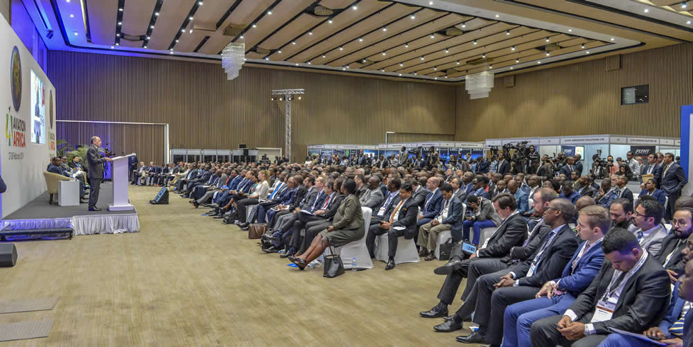 Aviation summit in Kigali
