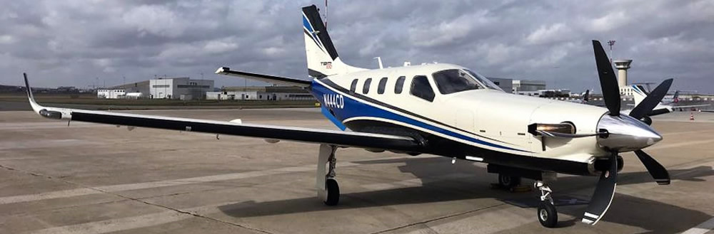 TBM 930 sets New York-to-Paris speed record
